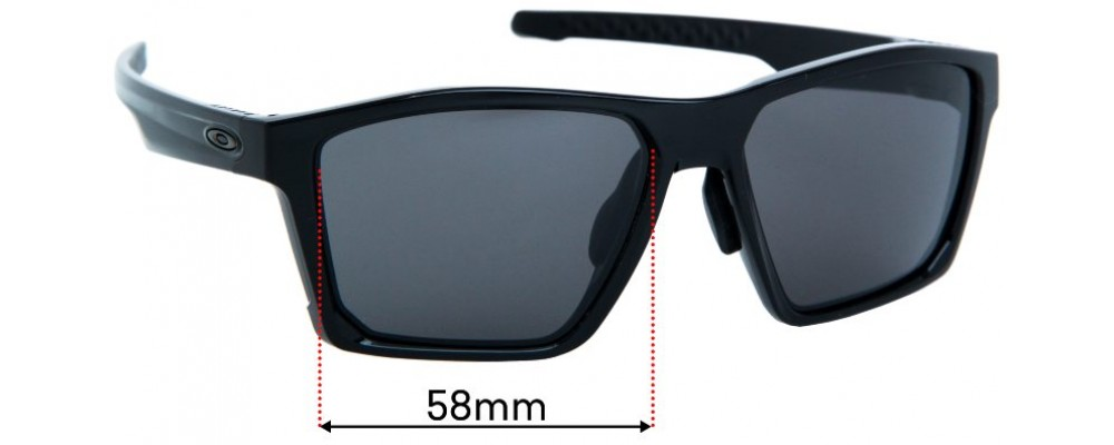 Sunglass Fix Replacement Lenses for Oakley Targetline OO9398 (Asian Fit) - 58mm wide