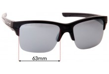 Oakley Thinlink OO9316 Replacement Sunglass Lenses - 63mm wide