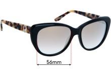 Sunglass Fix Replacement Lenses for Oroton Estrella - 56mm Wide