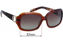 Oroton Lyon Replacement Sunglass Lenses - 57mm wide