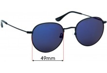 Sunglass Fix Replacement Lenses for Ortc Drift - 49mm wide