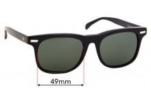 Sunglass Fix Replacement Lenses for Otis Trendwell - 49mm Wide