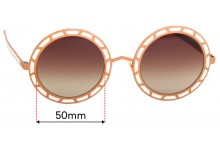 Sunglass Fix Replacement Lenses for Pared Sonny & Cher - 50mm wide