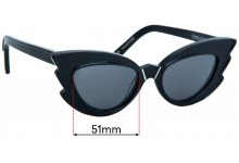 Sunglass Fix Replacement Lenses for Pared Stargazers - 51mm wide