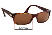 Persol 2803S Replacement Sunglass Lenses - 55mm Wide