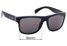 Polasports Mobster Replacement Sunglass Lenses - 56mm Wide