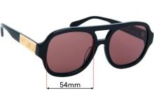 Poppy Lissiman JimBob Replacement Sunglass Lenses - 54mm Wide