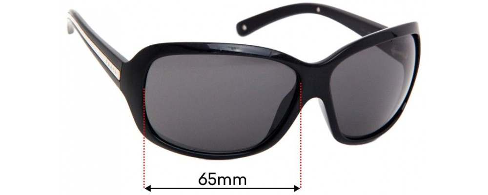 Sunglass Fix Replacement Lenses for Prada SPR20I - 65mm wide