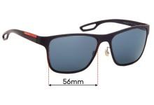 Sunglass Fix Replacement Lenses for Prada SPS56Q - 56mm wide