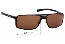 Prego 81303  Replacement Sunglass Lenses - 61mm wide