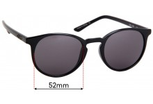 Quay Australia Day Job Replacement Sunglass Lenses - 52mm Wide