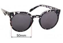 Quay Australia Kosha  Replacement Sunglass Lenses - 50mm wide