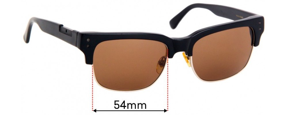 Sunglass Fix Replacement Lenses for Raen Underwood - 54mm Wide