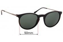 Ralph Lauren Polo PH 4096 Replacement Sunglass Lenses - 50mm Wide