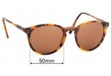 Ralph Lauren Polo PH 4110 Replacement Sunglass Lenses - 50mm Wide