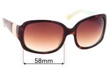 Ralph Lauren 5031 Replacement Sunglass Lenses - 58mm wide