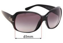 Ralph Lauren RL8001 Replacement Sunglass Lenses - 61mm wide