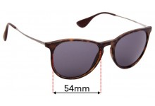 Ray Ban RB4171 ERIKA Replacement Sunglass Lenses - 54mm wide