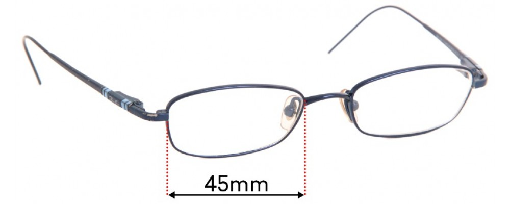 Ray Ban RB1009 Replacement Sunglass Lenses - 45mm Wide