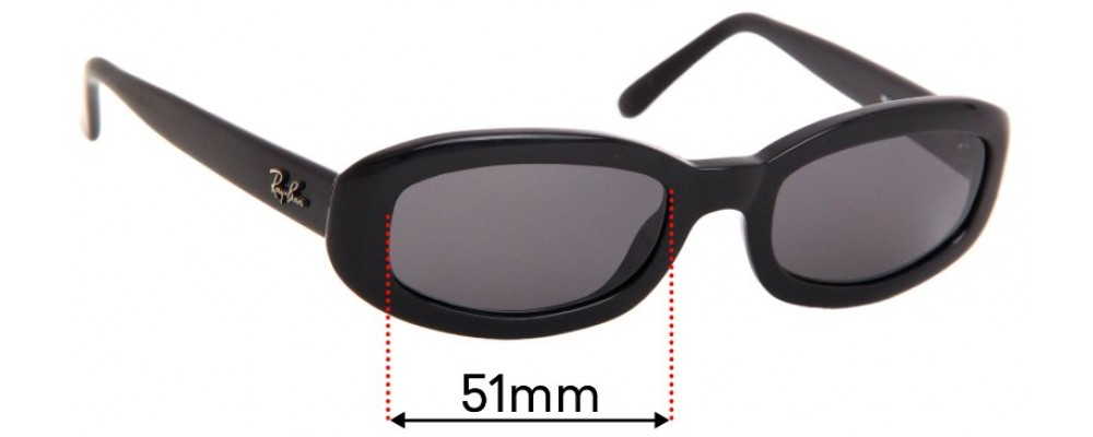 Ray Ban RB2111 Rituals Replacement Sunglass Lenses - 51mm wide
