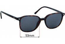 Ray Ban RB2193 Leonard Replacement Lenses 53mm