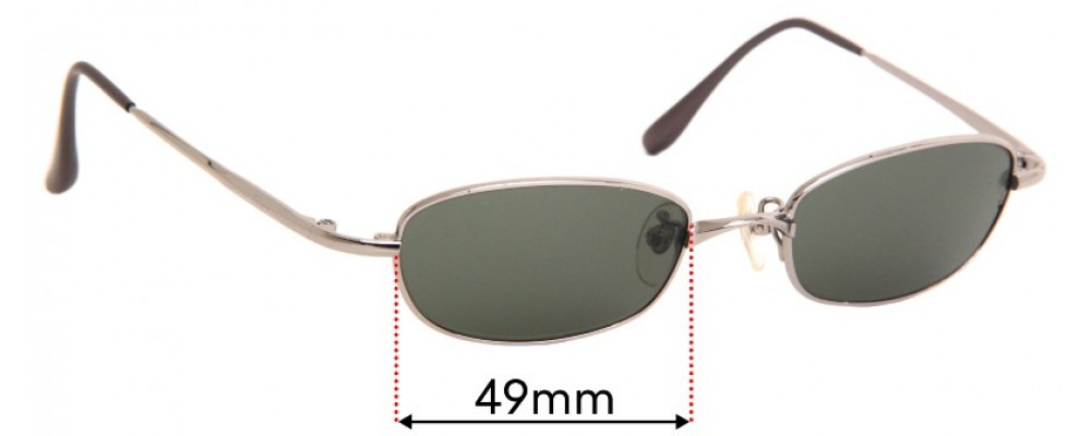 Ray Ban RB3152 Replacement Sunglass Lenses - 49mm Wide