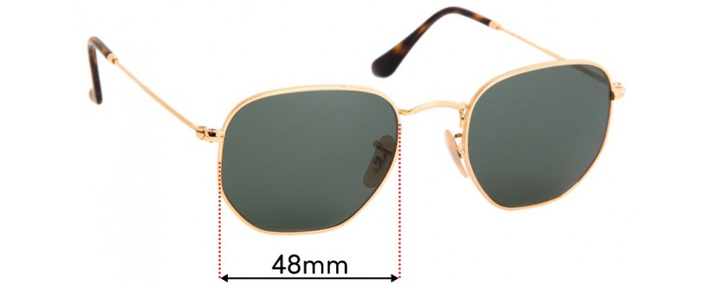 Sunglass Fix Replacement Lenses for Ray Ban RB3548-N - 48mm Wide