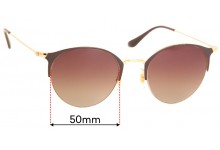 Ray Ban RB3578  Replacement Lenses 50mm