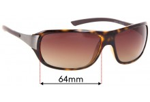 Ray Ban RB4120 Replacement Sunglass Lenses - 64mm Wide