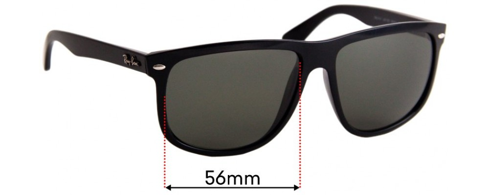 Ray Ban RB4147 Replacement Sunglass Lenses - 56mm wide