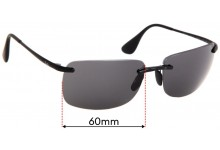 Ray Ban RB4255 Replacement Lenses 60mm