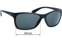 Ray Ban RB4331 Replacement Lenses 61mm