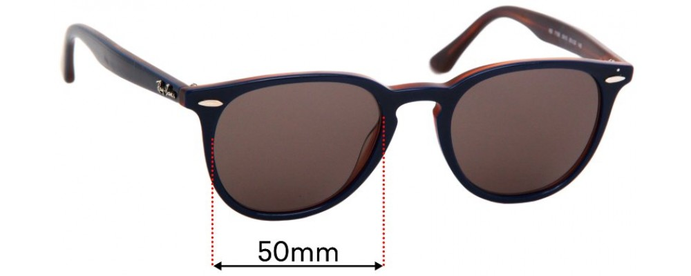 Ray Ban RB7159 Replacement Sunglass Lenses - 50mm Wide