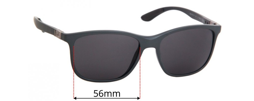Ray Ban RB4330CH Chromance Replacement Lenses 56mm