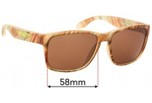 Rudy Project Spin Hawk SP31 Replacement Sunglass Lenses - 58mm wide