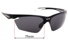 Rudy Project Stratofly  Replacement Sunglass Lenses - 71mm Wide