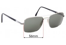Sunglass Fix Replacement Lenses for Sferoflex 2263 - 56mm Wide