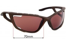 Specialized Divide Replacement Sunglass Lenses - 70mm Wide