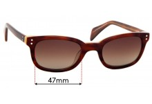 Specsavers Melbourne Replacement Lenses 57mm Wide