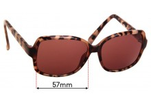 Sunglass Fix Replacement Lenses for Specsavers Stormness Sun Rx - 57mm Wide