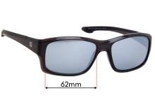 Specsavers Twynam Sun Rx Replacement Sunglass Lenses - 62mm wide