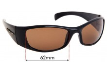 Sunglass Fix Replacement Lenses for Spotters Artic  - 62mm wide