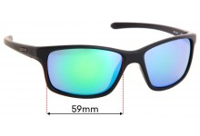 Sunglass Fix Replacement Lenses for Spotters Grit Jnr - 59mm Wide