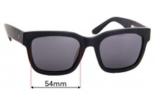 Sunglass Fix Replacement Lenses for Spy Optics Trancas - 54mm Wide