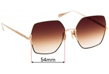 Sunglass Fix Replacement Lenses for Sunday Somewhere Eden - 54mm wide