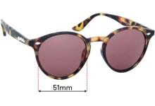 Szade Henson Replacement Sunglass Lenses - 51mm wide