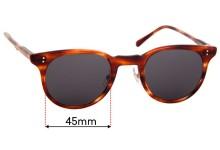 Timeworn Clothing Co. Hakusan Optician NATIONAL Replacement Lenses 45mm
