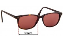 Tommy Hilfiger / Specsavers TH Sun RX 09 Replacement Sunglass Lenses - 55mm Wide