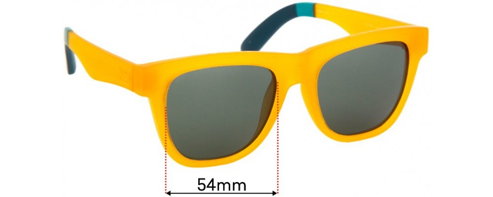 Sunglass Fix Replacement Lenses for Toms Dalston - 54mm wide