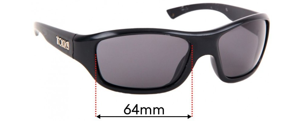 Sunglass Fix Replacement Lenses for Tonic Evo - 64mm Wide